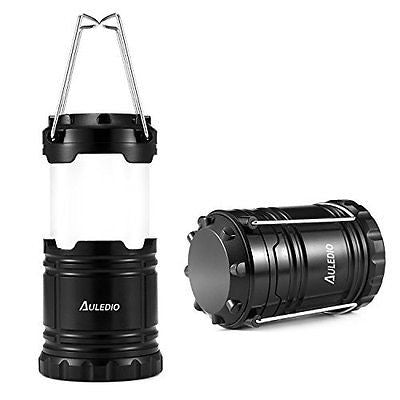 LED Camping Lantern, Auledio Portable Outdoor Collapsible LED Lantern