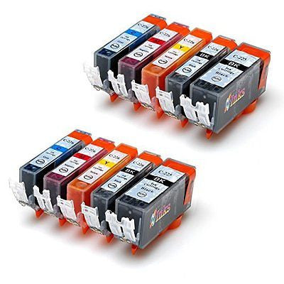 HD Inks(TM) Compatible Ink Cartridge Replacement for PGI-225 & CLI-226. 10 Pack