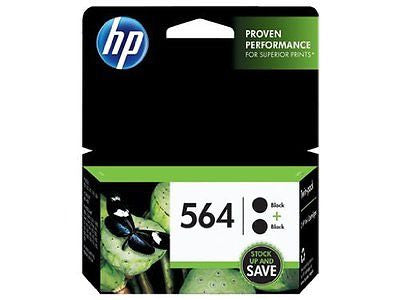 564 Black Original Ink Cartridges 2 pack (C2P51FN)