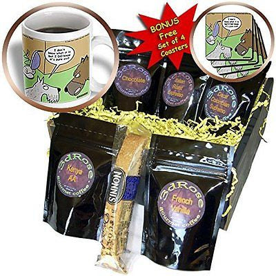 Rich Diesslins Funny Dogs Cartoons - Vacuum Cleaner - Coffee Gift Baskets