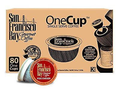 San Francisco Bay OneCup Fog Chaser 80 Single Serve Coffees