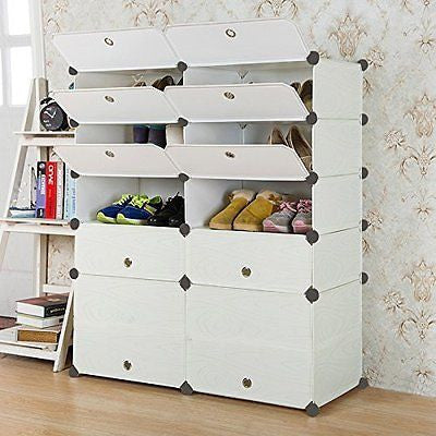 Shoe Rack Organizer Storage Bench Store up to 57 Pairs
