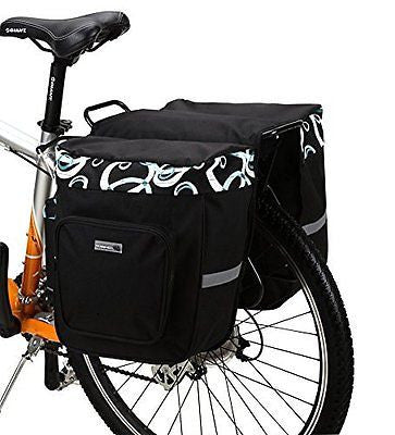 ArcEnCiel Bicycle Rear Seat Trunk Both Side Bag Handbag Bag Pannier