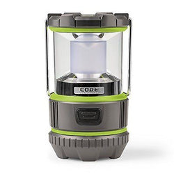 CORE 500 Lumen CREE LED Battery Lantern 3 D batteries Camp Lantern Emergency