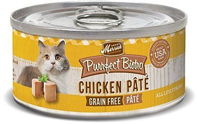 Merrick Purrfect Bistro Canned Cat Food, 5.5 oz, 24 Count Case
