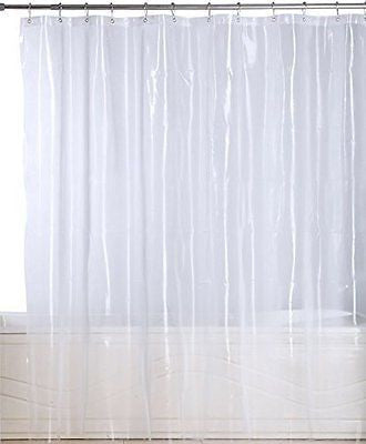 Premium Mildew Resistant Shower Curtain - Anti-bacterial 10-Gauge Heavy