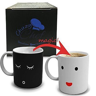 Color and Face Changing Ceramic Coffee Mug 12 oz