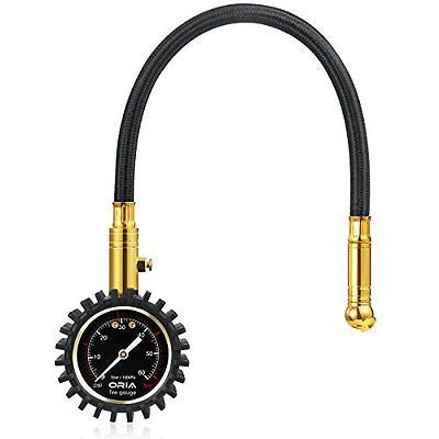 Heavy Duty Car Tire Pressure Gauge for Auto Motorcycl Bicyc &le - 60 PSI/4 BAR