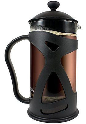 KONA French Press Coffee Tea Espresso Maker Black 34oz Teapot Best Present Idea