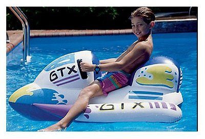 GTX Wet Ski Inflatable Ride-On 1 White