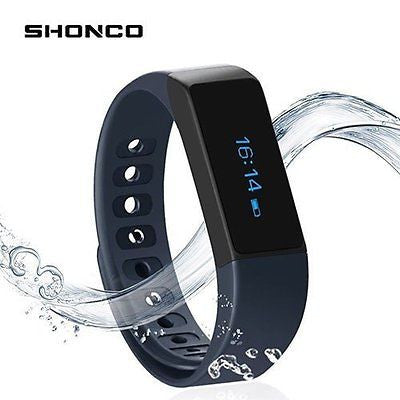 Fitness Tracker Wireless Activity Wristband, Shonco I5 Plus Bluetooth Touch