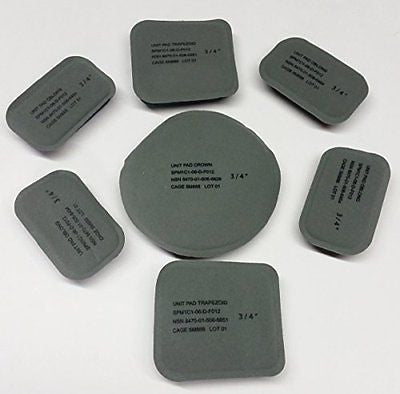 NEW ORIGINAL US ARMY ISSUE - PADS SET (7 PADS) FOR THE ACH / MICH HELMET