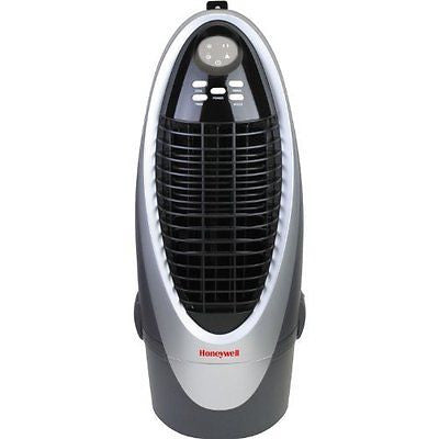 Honeywell Indoor Portable Evaporative Air Cooler with Remote Control Silver/Grey