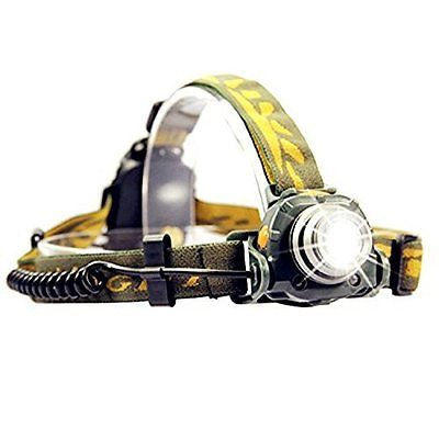 OxyLED MH20 LED Headlamp with Motion Sensor, Green