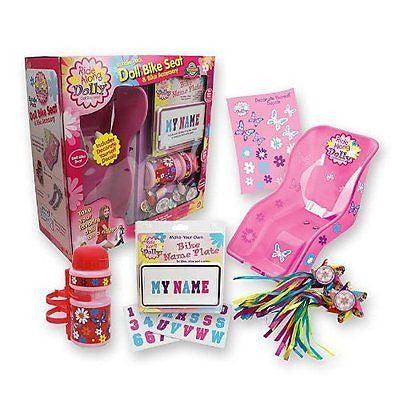 Doll Bike Seat Gift Pack -