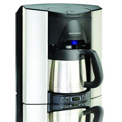 Brew Express BEC-110BS 10-Cup Countertop Coffee System Stainless/Black