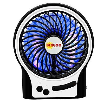 Bengoo Portable Fan USB Mini Desktop Desk Table Electric Rechargeable Fan