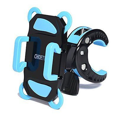 Bike Mount CHOE Universal Bicycle Handlebar & Motorcycle Holder Cradle