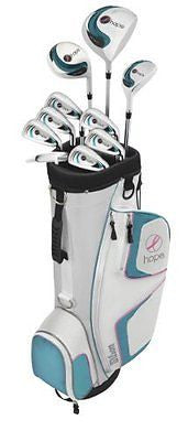 Wilson Women Hope Complete Golf Package Set Right Hand Graphite DR Steel Hybrid