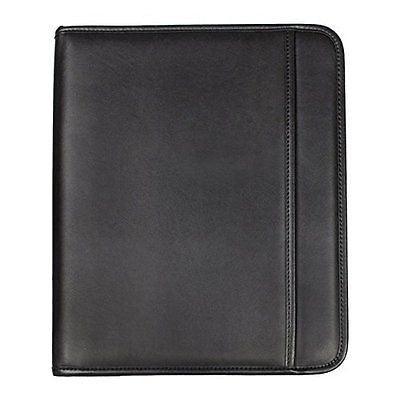 Samsill Professional Padfolio with Zippered Closure, Letter Size Writing Pad