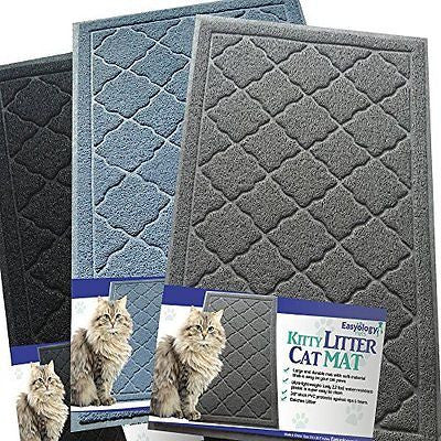 Easyology Premium Cat Litter Mat - XL Super Size - Extra Large Scatter Control