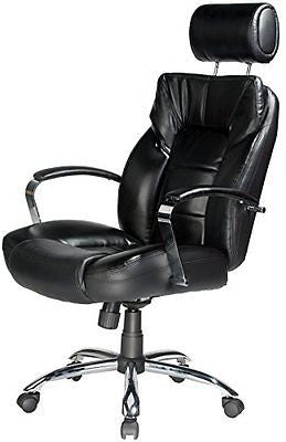 Comfort Products 60-5800T Commodore II Leather Chair Adjustable Headrest
