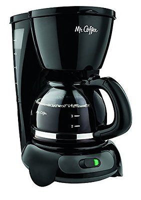 TF5GTF 4-Cup Switch Coffeemaker Black with Gold Tone Filter