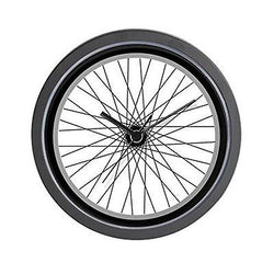 CafePress - Bicycle (Bike) Tire - Wall Clock