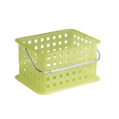 InterDesign Storage Organizer Basket, for Bathroom, Health and Beauty Products