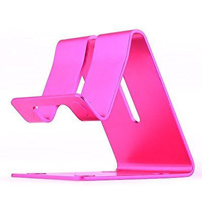 Esonstyle Desktop Cell Phone Stand: Portable Aluminum Smartphone Holder Cellphon