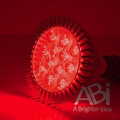 ABI 12W Deep Red 660nm LED Bloom Booster Grow Light Bulb for Flowering