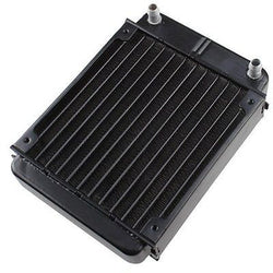 AGPtek? 12 Pipe Aluminum Heat Exchanger Radiator for PC CPU CO2 Laser Water Cool