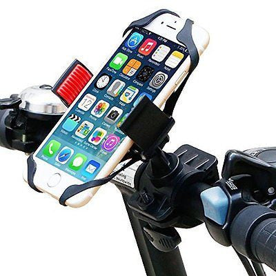 Bike Mount, Ipow Universal Cell Phone Bicycle Rack Handlebar & Motorcycle Holder