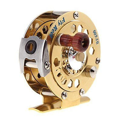 Metal Fly Fish Reel Former Ice Fishing Vessel Wheel BF600A 0.50/100(mm/m) 1:1