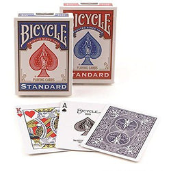 Bicycle Standard Index Playing Cards (Pack of 6)