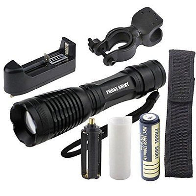 Flashlight,Baomabao 5000LM XM-L T6 LED Tactical Zoomable Flashlight Torch Light