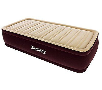 "Bestway 75""x38""x17"" Inflatable New Comfort Raised Airbed Mattress 