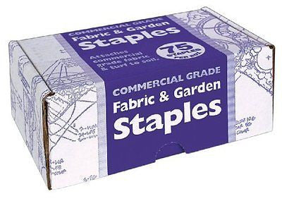 Easy Gardener 815 75-Count Fabric and Garden Staples