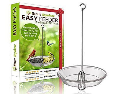 Large Hanging Bird Feeder - GIFT EDITION with Removable Tray