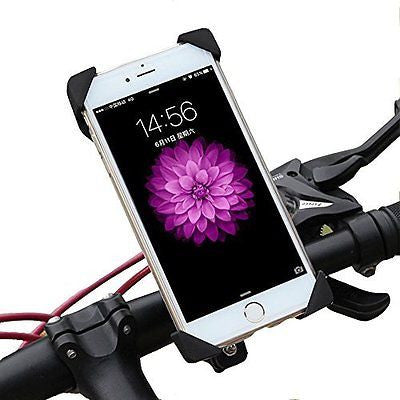 Bike Mount,EMIUP Universal Cell Phone Bicycle Handlebar & Motorcycle Holder Crad