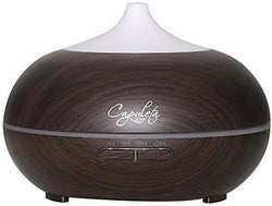 Capuleta Essential Oil Diffuser - 7 Colors Changing LED Lights