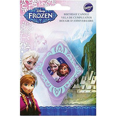 Wilton 2811-4500 Disney Frozen Birthday Candle
