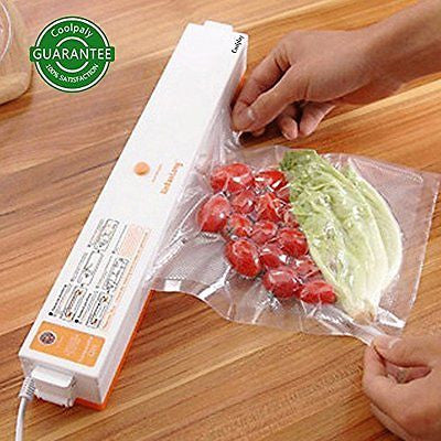 Mini Household Vacuum Package Machine Food Sealer Heat Sealer Magnet Pouch Set