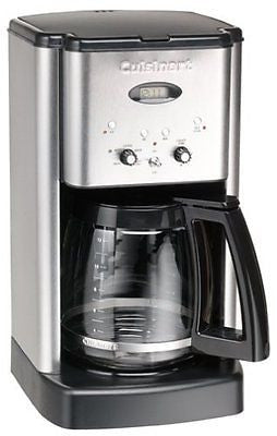 Brew Central 12-Cup Coffeemaker Brushed Stainless Steel (Certified Refurbished)