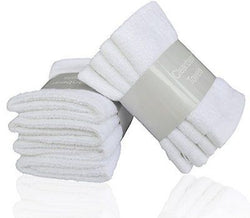 Cleanbear Dish Towel Washcloths Sets,100% Natural Cotton, High Absorbent