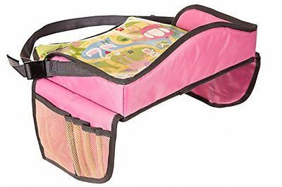 Childrens Travel Tray - Kids Play Tray for Snacks Car and Plane Journeys