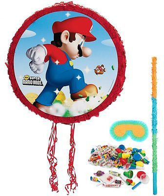 Birthday Express - Super Mario Bros. Pinata Kit