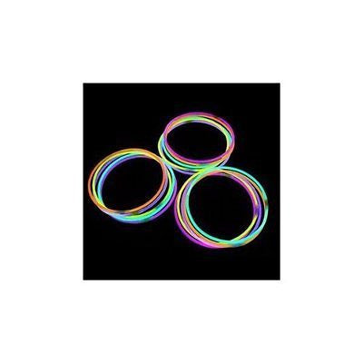 "22"" Glowsticks Light Stick Necklaces Mixed Colors (100 Necklaces)"