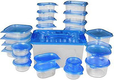 Food Storage Container - Blue - BPA Free -