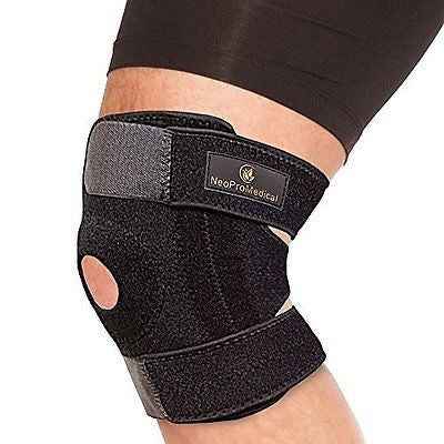 NeoProMedical Knee Support - Neoprene Breathable Knee Brace- Adjustable Size